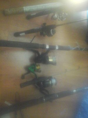 Rods and reels fishing poles for Sale in San Pablo, CA