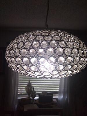 Pendent chandelier light for Sale in Groveland, FL
