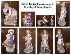 Lladros and Royal Copenhagen Figurines for Sale in Temecula, CA
