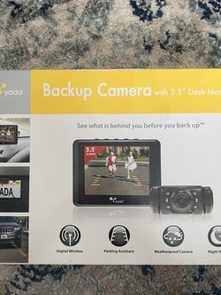 """Yada Backup Camera with 3.5"""" Dash Monitor for Sale in Fort Myers,  FL"""