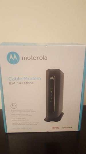 Brand New Motorola Cable Modem for Sale in Saint Charles, MD