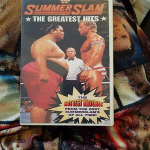 Wwf Summerslam The Greatest Hits Dvd for Sale in Chicago, IL