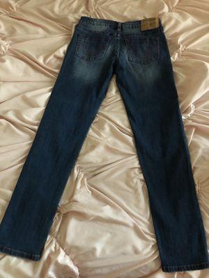 Flower dark blue jeans for Sale in Manteca, CA