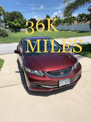 2014 Civic Honda 4-door LX - PRICED TO SELL for Sale in INDIAN RK BCH, FL