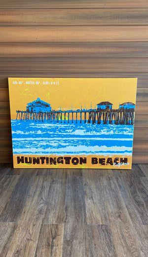 Huntington Beach - Great Big Canvas 48x36 for Sale in Huntington Beach, CA