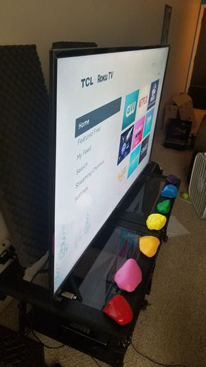 """TCL 65"""" 4K SMART TV for Sale in Clancy, MT"""