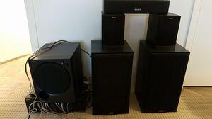 Sony STR-K750P Klipsch DCM 5.1 Surround Sound System for Sale in Scottsdale, AZ