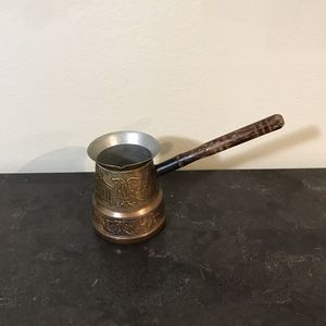 Hand Made Armenian Copper Coffee Pot Made In Armenian for Sale in Los Angeles, CA