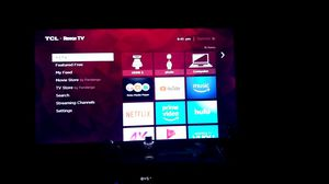 TCL 55 inch TV with built in Roku for Sale in Portland, ME