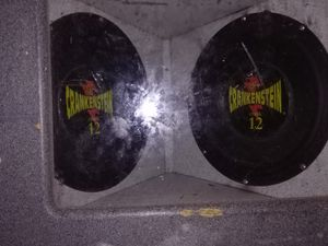 DR. CRANKENSTEIN 12'S WITH AMP for Sale in NC, US