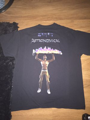 Travis Scott Air Jordan 1 Astronomical T Shirt for Sale in Alexandria, VA