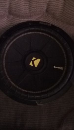 Kicker comp c for Sale in Santa Maria, CA