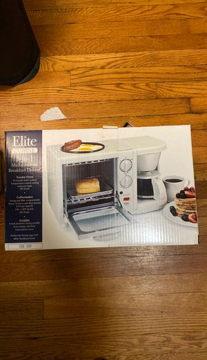 NEW Toaster, Coffee Maker & Hot Plate 3-1 for Sale in Staten Island, NY