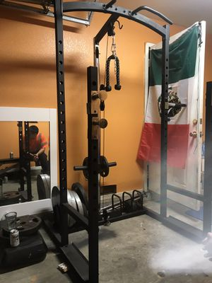 Weights, rack, bench press for Sale in Los Angeles, CA