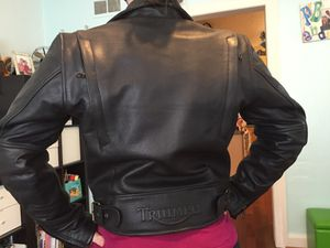 Triumph Triple Connection Ladies Leather Jacket for Sale in Tampa, FL
