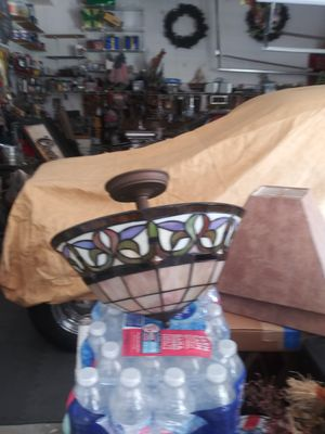 Stain glass light for Sale in Lumberton, NJ