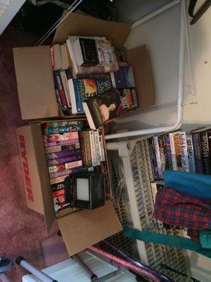 VHS tapes, DVDs, board games & books for Sale in Burke, VA