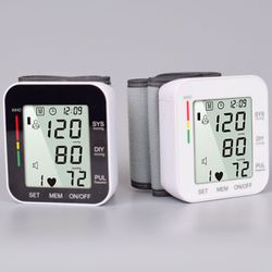 Blood Pressure Monitor Wrist Digital Electric Pulse Tonometer Meter Health Care Portable Sphygmomanometer Sunshine Crackers for Sale in Ontario,  CA