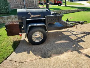 Home Made Smoker Trailer for Sale in Grapevine, TX