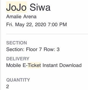 JoJo Siwa Concert tickets for Sale in North Port, FL