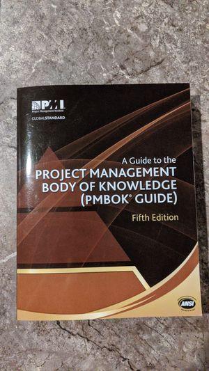 PMBOK Guide book for Sale in Richland, WA