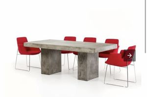Modrest Saber Modern Concrete Dining Table for Sale in Falls Church, VA