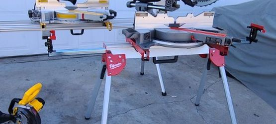 MILWAUKEE MITTERSAW AND DEWALT FLEXBOLT 850$ EACH ONE ICLUD STAND for Sale in Gardena,  CA