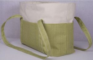 Homemade Green Checkered Tote Bag for Sale in Middleburg Heights, OH