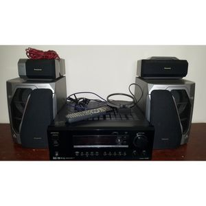 ONKYO Home Audio Theater with Receiver, Speakers, & Antenna for Sale in Santa Ana, CA