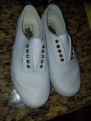 White Vans 7m, 9womens for Sale in Harker Heights, TX
