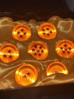 Dragon Ball Z set of seven dragon balls 2 inch for Sale in Bridgeport, PA