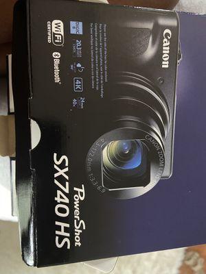 Canon camera power shot sx740hs for Sale in Richmond Hill, GA