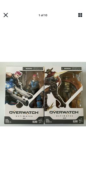 Overwatch Ultimates Series bundle: McCree, Zarya, Sombra & Soldier 76 for Sale in Kissimmee, FL