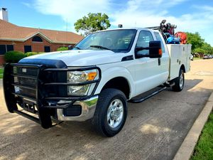 2015 ford f350 4x4 gas utility Bed for Sale in Mesquite, TX