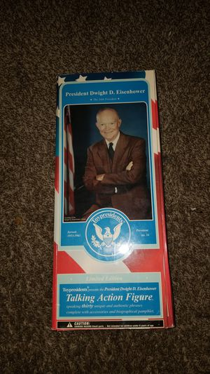 Dwight D. Eisenhower talking action figure for Sale in Houston, TX