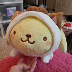 """Sanrio Pompompurin Cat Outfit 11"""" Japan Import Plushie for Sale in Gaithersburg,  MD"""