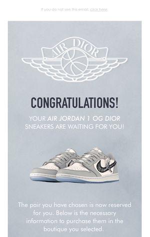 Jordan 1 OG Dior - Air Dior for Sale in Alhambra, CA