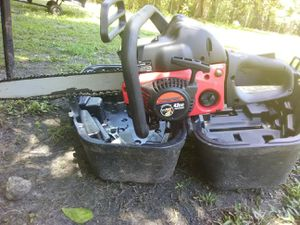 Troybuilt 42cc chainsaw with 18 inch bar for Sale in Gautier, MS