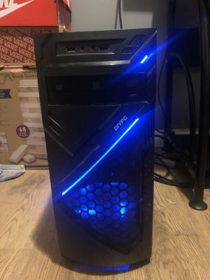 AMD RADEON Mid Tower - Blue Leds - 4gb Ram - Perfect Desktop Computer for Sale in Pittsburg, CA