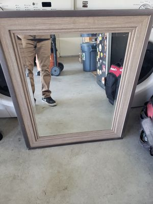 Wall mirror brown for Sale in Brea, CA