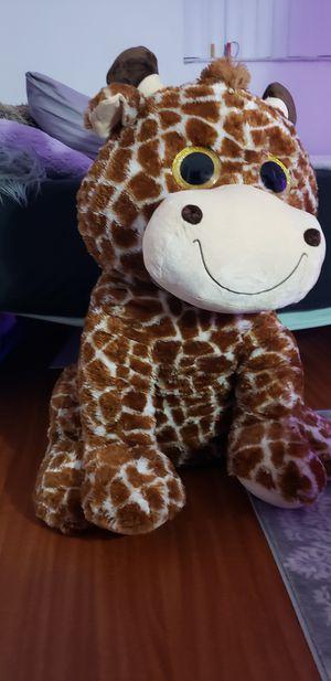 Jumbo giraffe stuffed animal for Sale in Sarasota, FL