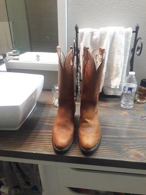 31d6ee29210 OLATHE WESTERN BOOTS 7 1/2 D for Sale