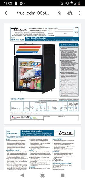 True commerical refrigerator 2 sided doors on both side for Sale in Wichita, KS