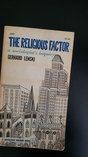 The Religious Factor for Sale in Norwalk, CA