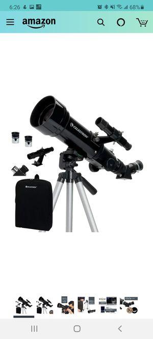 Celestron compact 70 telescope for Sale in Falls Church, VA