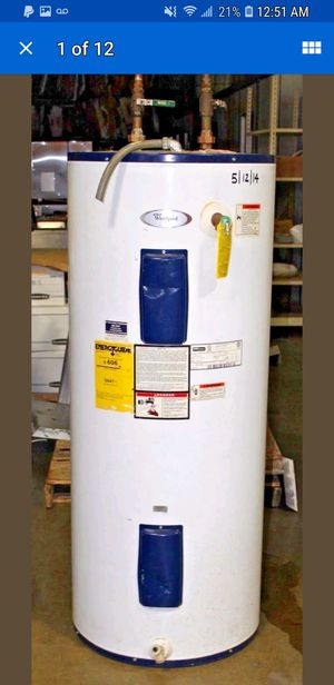 80 gallon water heater works great just upgraded. Its a steal if you know what to do with it or are in HVAC bizz for Sale in Denver, CO