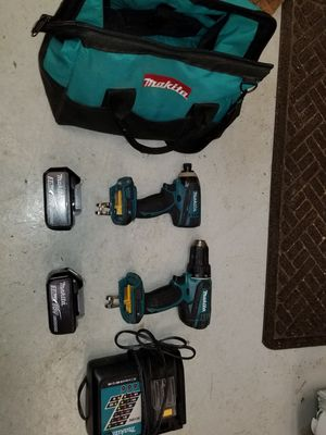 Makita 18v drill and impact driver for Sale in Martinsville, IN