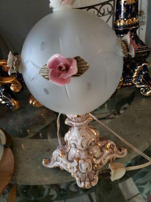 Lamp capodimonte small for Sale in Miami, FL