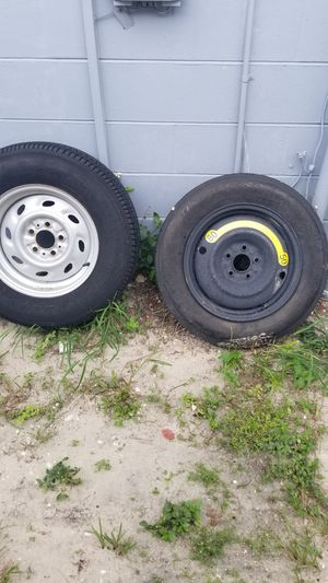 5 lug tire / rim and spare for Sale in Port Richey, FL