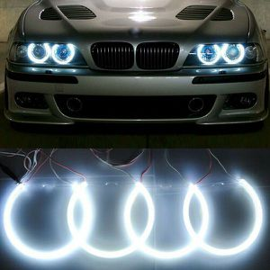 Headlight White CCFL Angel Eye Halo Rings Kit For BMW E39 E46 3 5 Series for Sale in Anaheim, CA